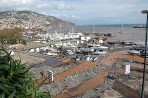 Funchal tuhojen jälkeen