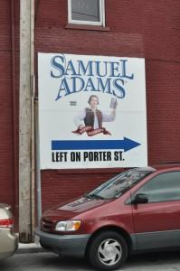 Matkalla Samuel Adamsille