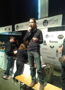 Olutsaarnamies Greg Koch, Stone Brewing
