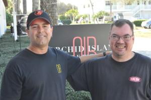 Floridan Orchid Islandilla törmäsin yllättäen panimoravintolassa baarimikkona olleeseen Eric Starnesiin, joka on yli 10k reittauksen mies Ratebeeriltä.